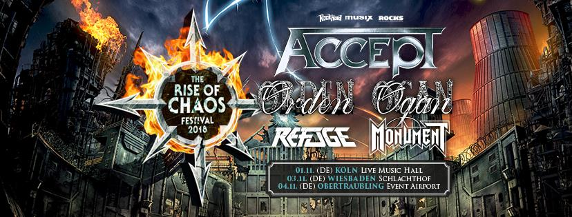 """Rise Of Chaos""-Festivals"