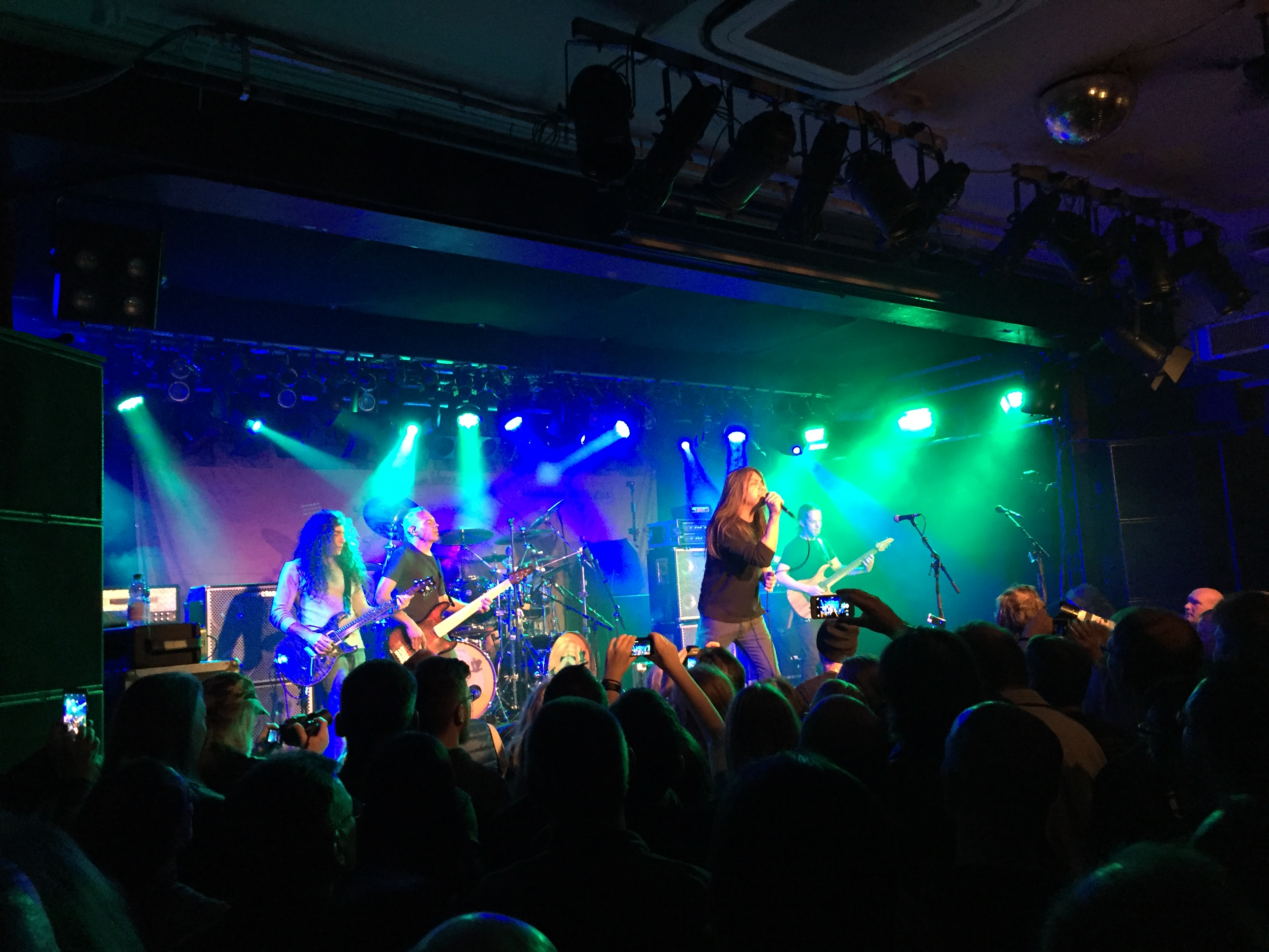FATES WARNING, Long Distance Calling (Aschaffenburg 2018)