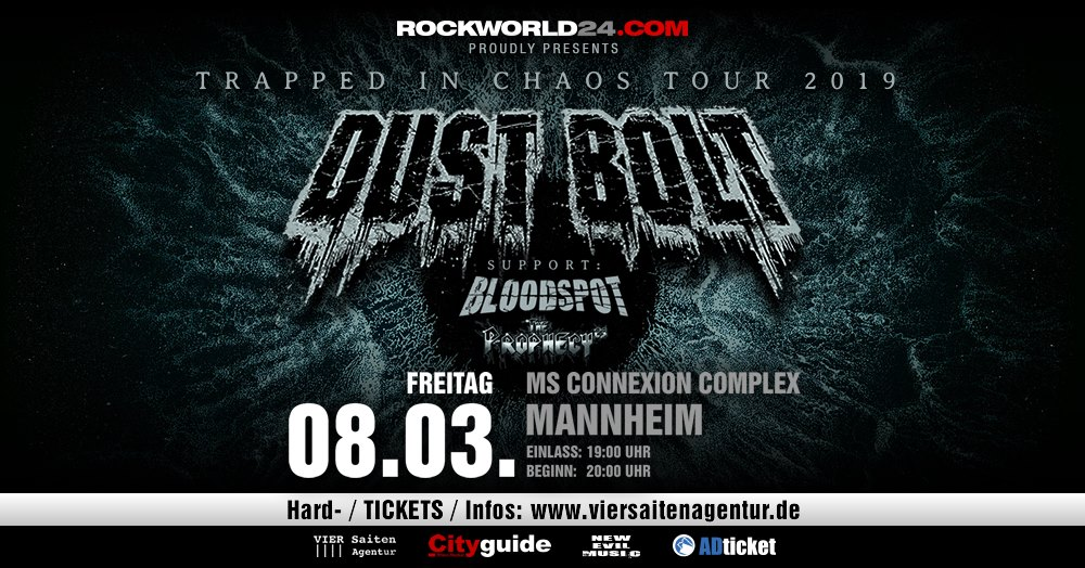 Dust Bolt / Bloodspot - Mannheim, 2019